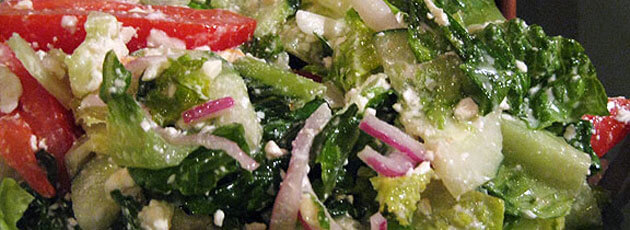 Hearts of Romaine Ceasar Salad