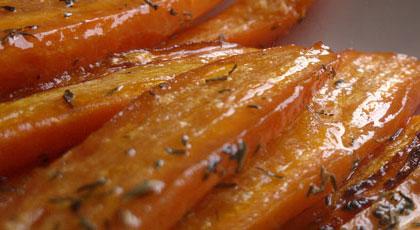 Honey & Mint Carrots