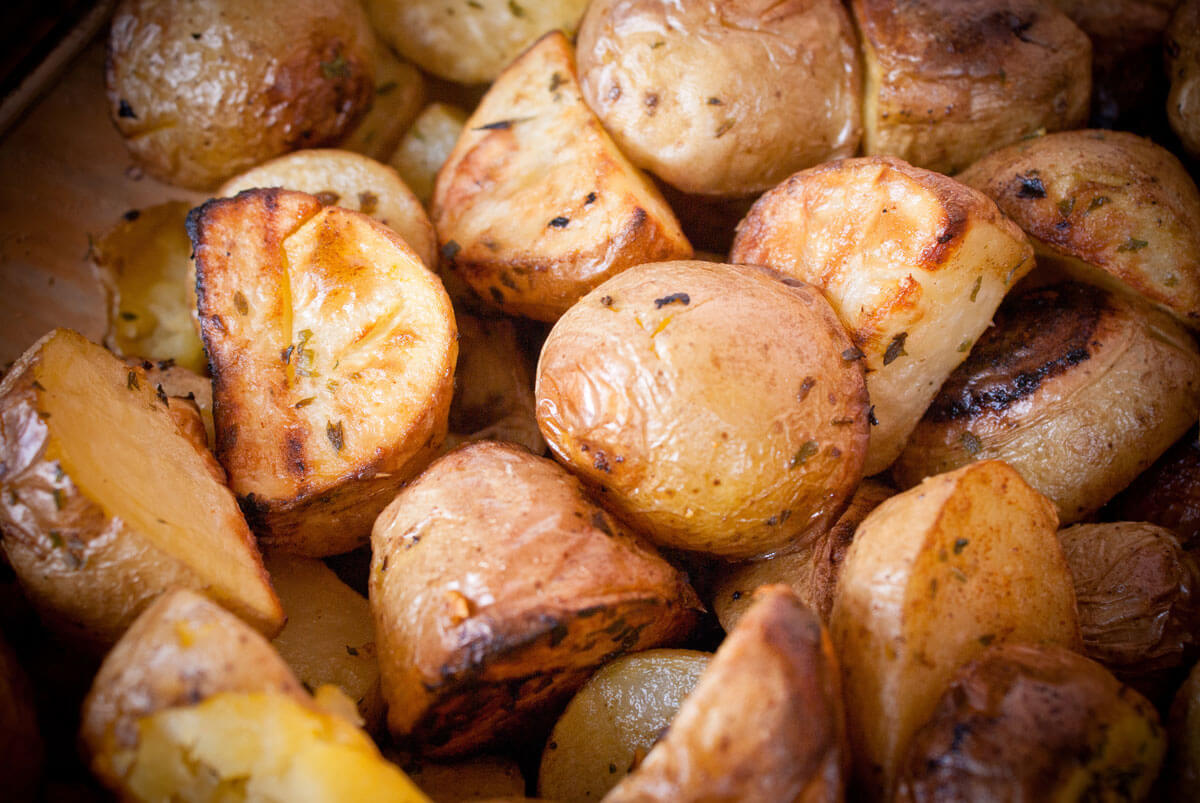 Oven-Roasted New Potatoes