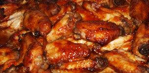 Fiery Chicken Wings