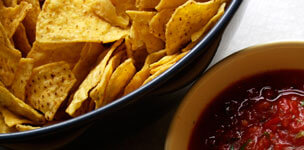 Chips and Home-made Salsa