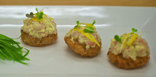 Maryland Crab Cakes with Dipping Sauce